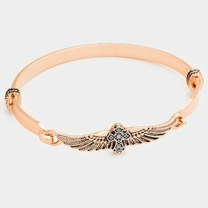 Jewelry - Embossed Wings Bracelet